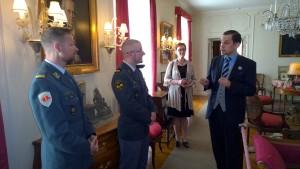 Mannerheim-museo kuuluu perinteisesti upseeristipendiaattien ohjelmaan