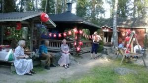Kesäjuhlat Kiviniemessä 2014