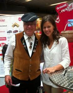 Alois Jeremias ja Melanie Oesch, kuva: Mia Lanz