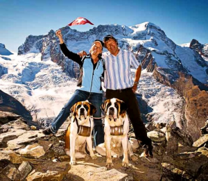 Doris Spachmann & Osmo Nuutinen, AHA-Erlebnisse, Davos