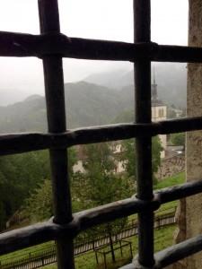 Näkymä linnan ikkunasta, kuva: Mia Lanz