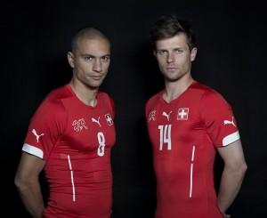Inler und Stocker, WM 2014