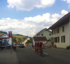 Tour de Suisse, 5. Etappe: Herznach, kärkikolmikko