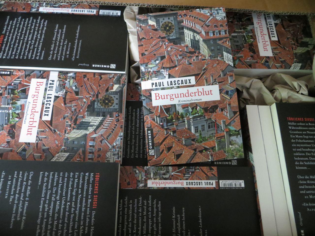 Burgunderblut – Paul Lascauxin uusimman dekkarin tapahtumapaikkana Grandsonin linna Neuchâtelinjärven rannalla