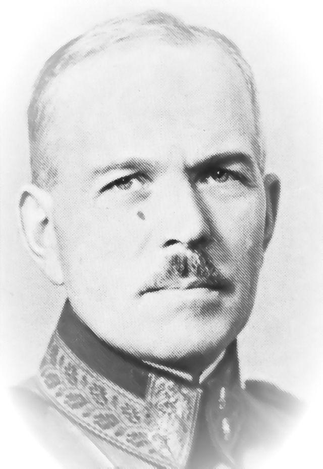 Muistolaatta kenraali Karl Lennart Oeschin kunniaksi