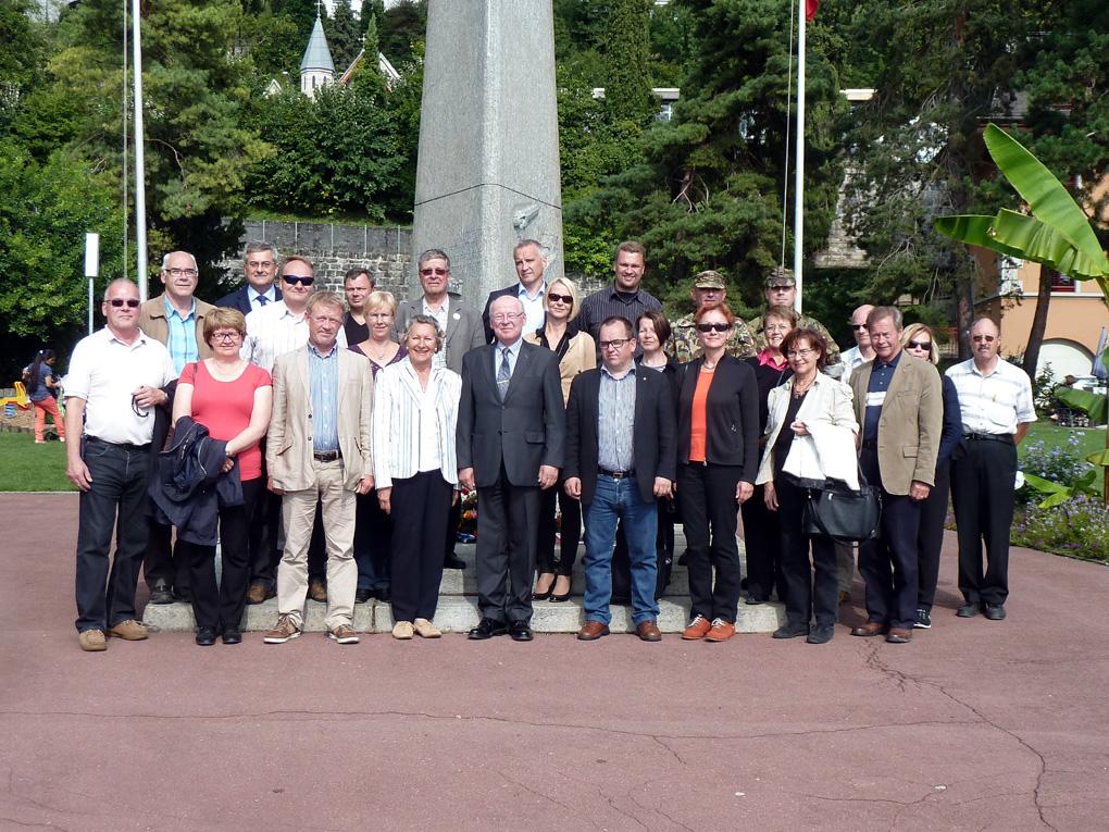 Sveitsin ja Suomen upseerivaihto Vierailu Sveitsissä syyskuun 2014 alussa