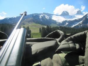 Tarkka-ampujan maalialue. Kuva Mano Nokelainen