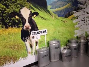 Maidon tuotanto Sveitsissä, kuva: Mia Lanz