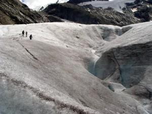 Morteratsch-jäätiköllä