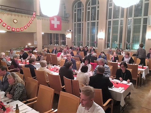 Sveitsin Ystävät 70 vuotta