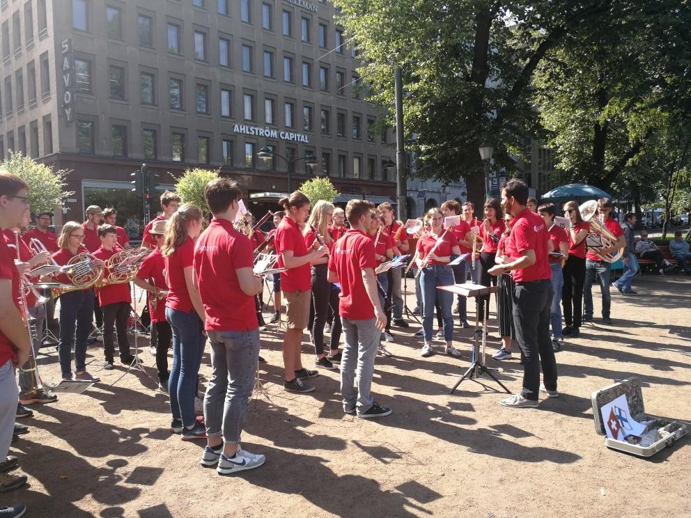 Bernin nuoriso-orkesterin konsertit 1.8.