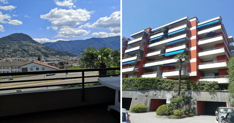 Loma-asunto vuokrattavana Luganossa