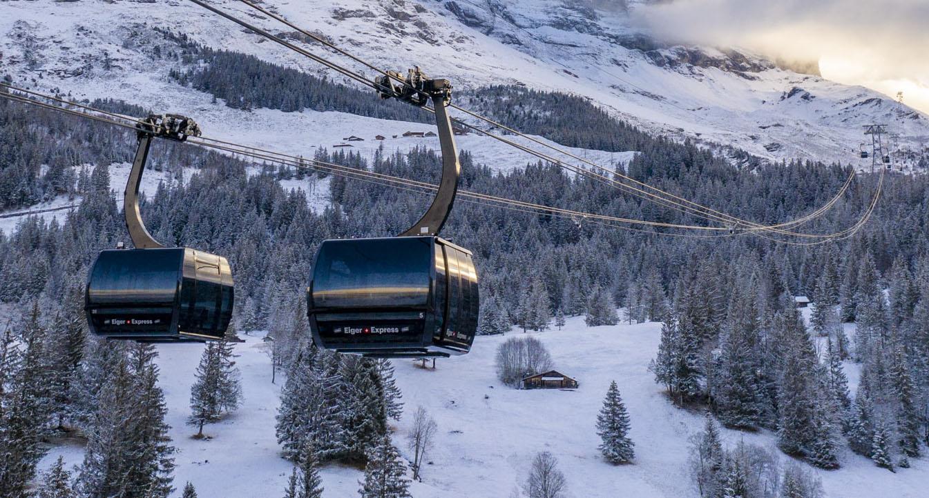 Uusi Eiger Express vie Grindelwaldista Eigerin jäätikölle 15 minuutissa
